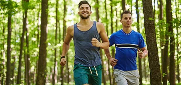 Løping kan være sosialt