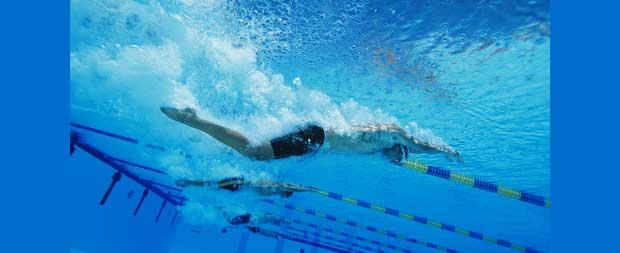 Svømming er bra trening